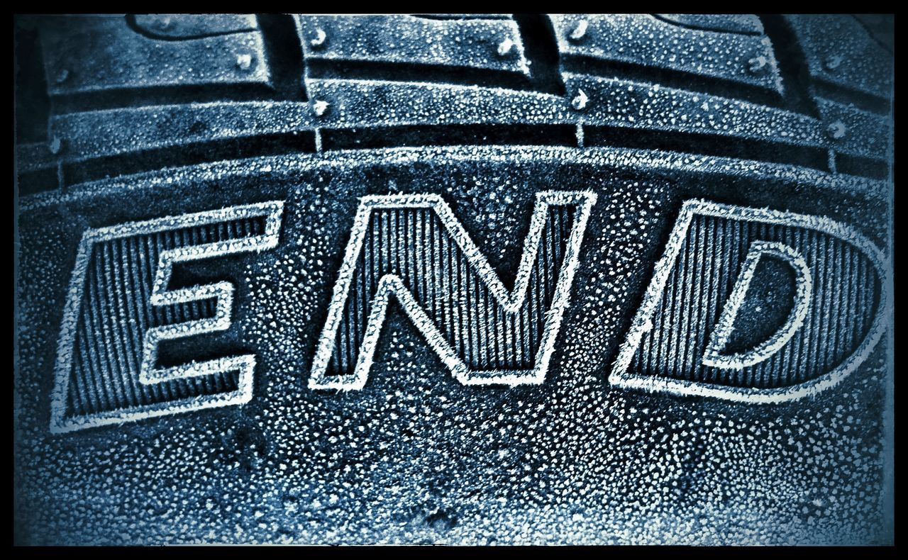 Frost on a car tyre, Spain. Close-up End Full Frame No People Pattern Text Tyre Tyres Words Words Of Wisdom...
