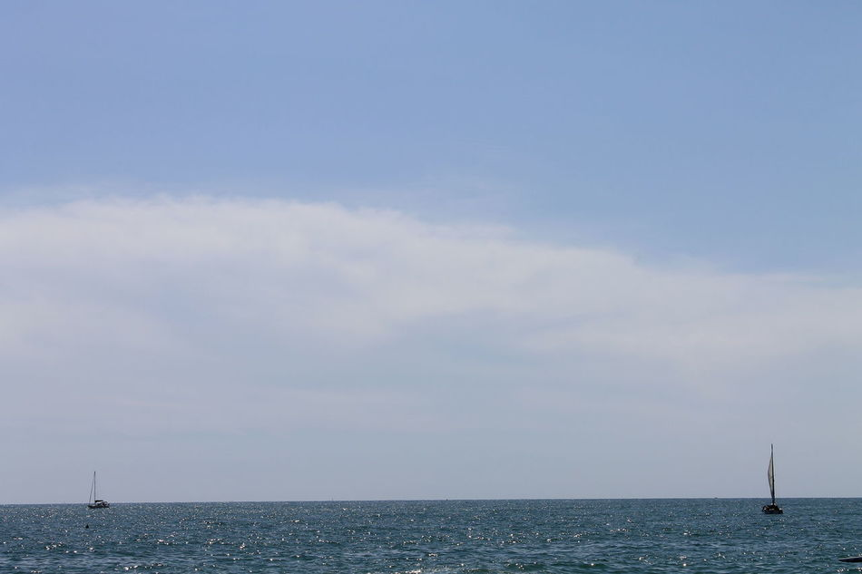 If you like my photos and want to support me, check 'em here : Beach Beauty In Nature Cloud - Sky Day Horizon Over Water Nature No People Outdoors Sailboat Sailing Scenics Sea Sky Tranquil Scene Tranquility Water Yachting