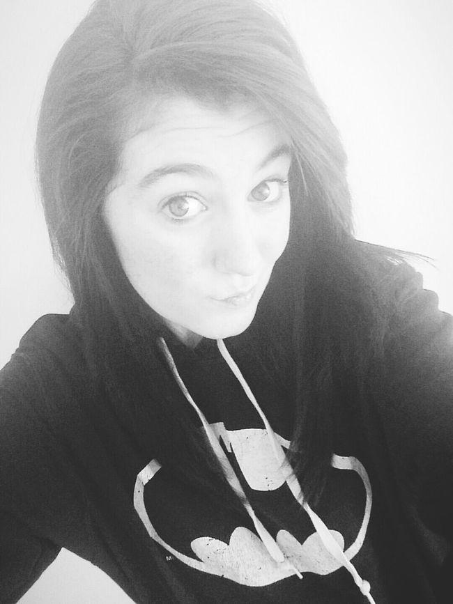 Duck Lips Selfie :) Black & White