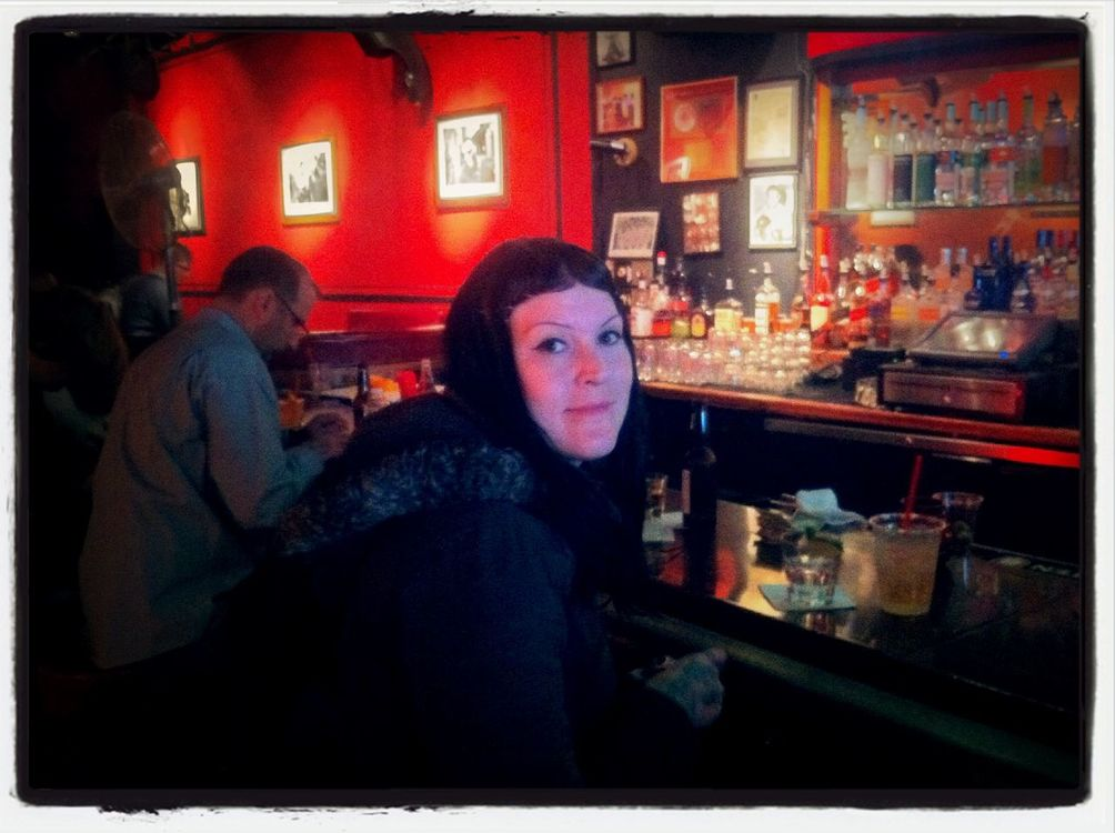 drinking at Boom Boom Room by Max Ackermann