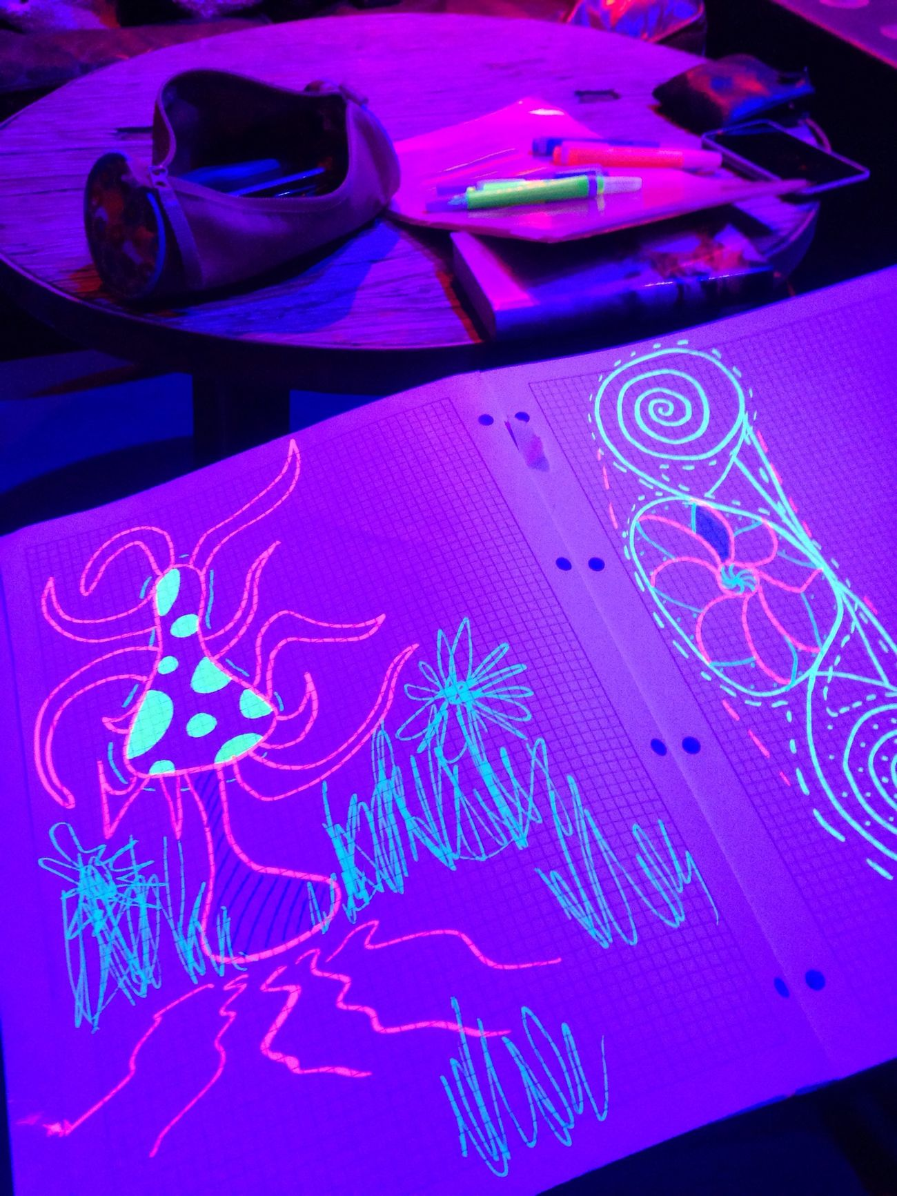 Drawing UV  Leuchtstift
