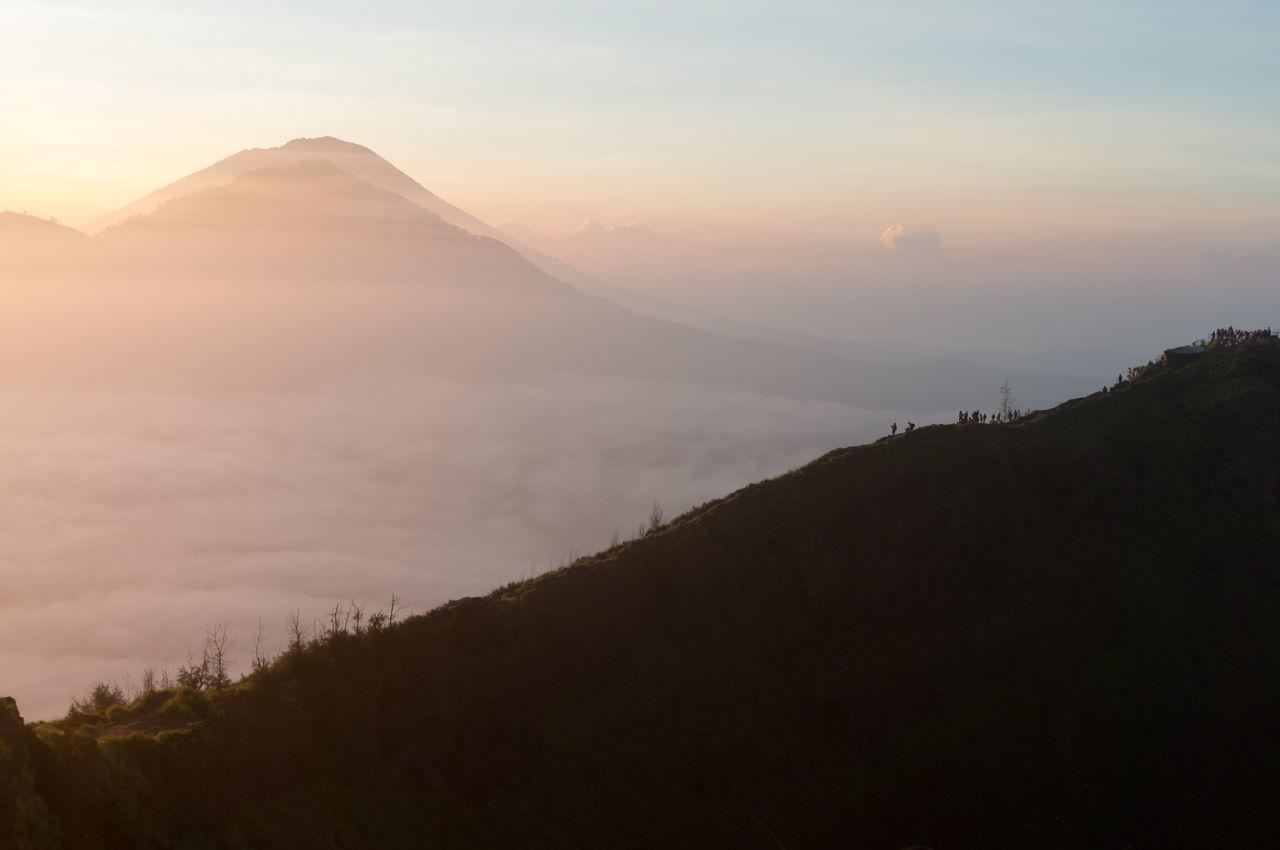 Adventure ASIA Bali Batur Clouds Colors Destinations Hiking INDONESIA Kintamani Orange Pastel Sea Shadow Sky Sunlight Sunrise Travel Trekking View Volcano The Great Outdoors - 2016 EyeEm Awards