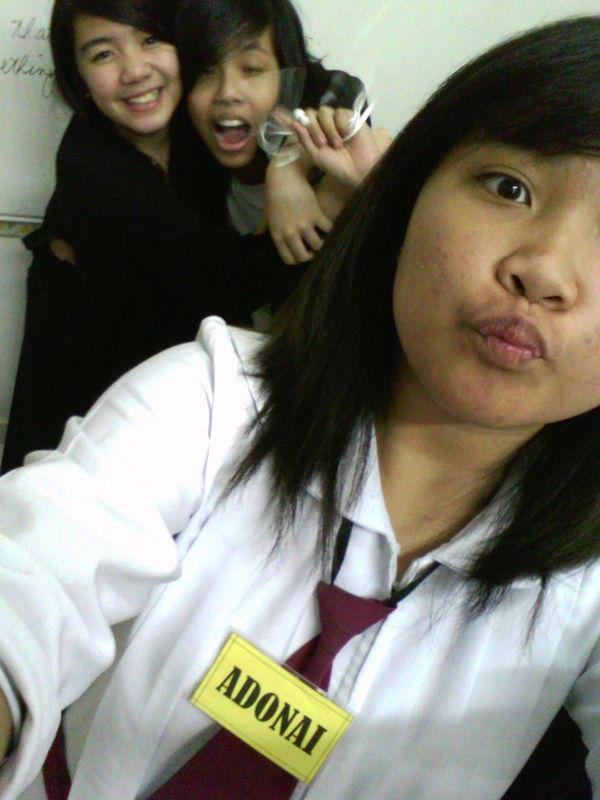 my classmates Adonai, Lira and Sophia... ChastityMoments
