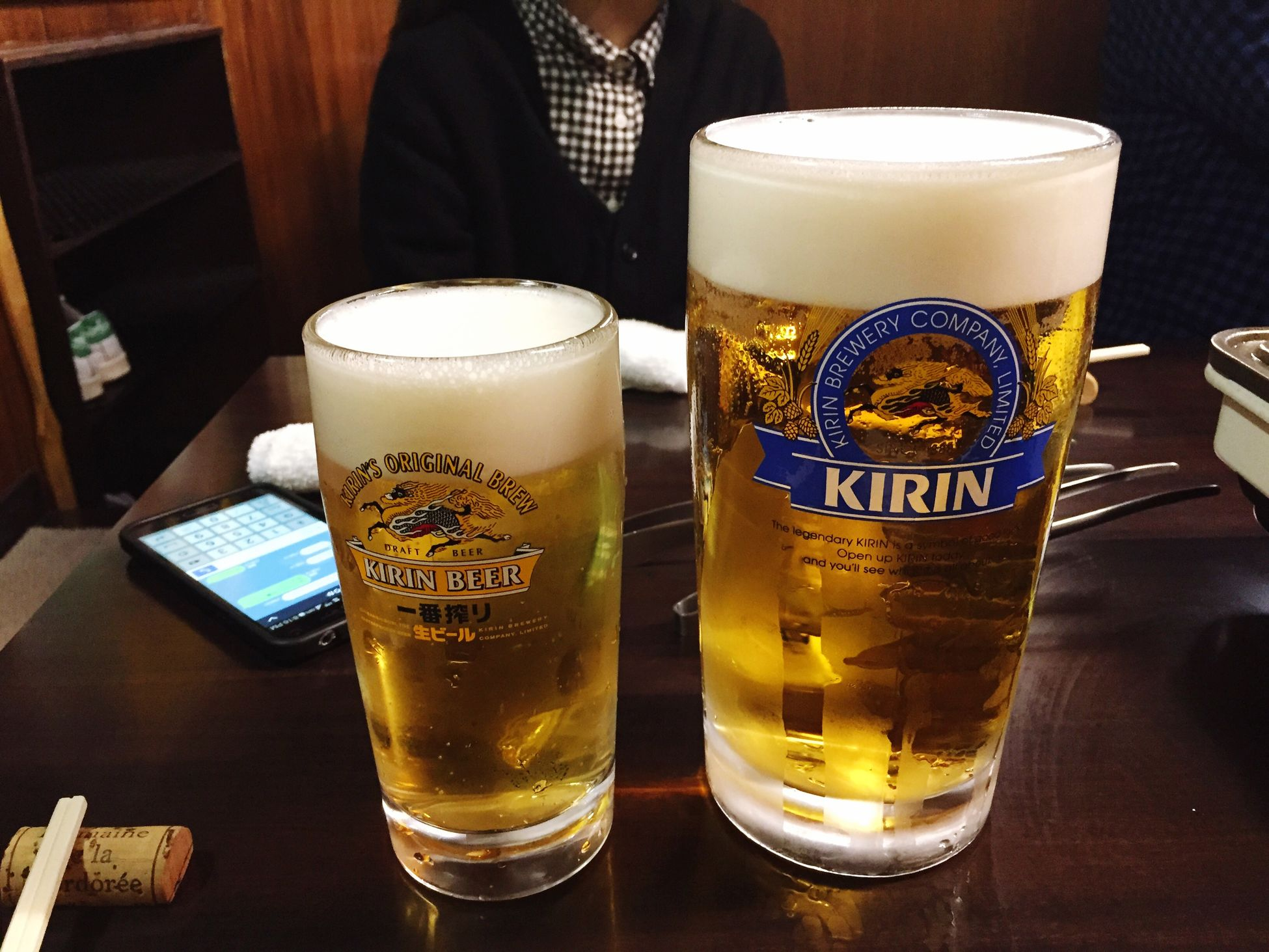 a mug of beer and a MEGA mug of beer