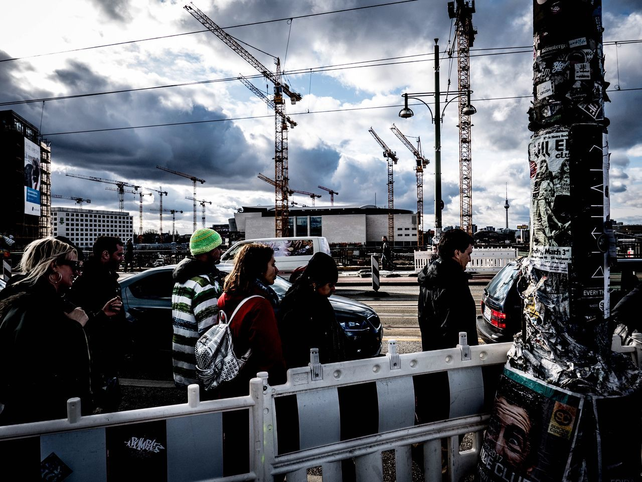 Everydaygermany Transportation Sky Cloud - Sky Men Real People Public Transportation Outdoors Large Group Of People Day People Adults Only Adult Boat Deck
