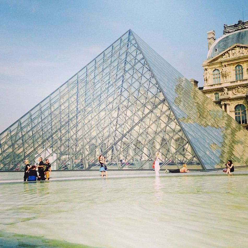 Time to revisit one of the beautiful museum on earth Louvre Paris Culturalsunday Museum