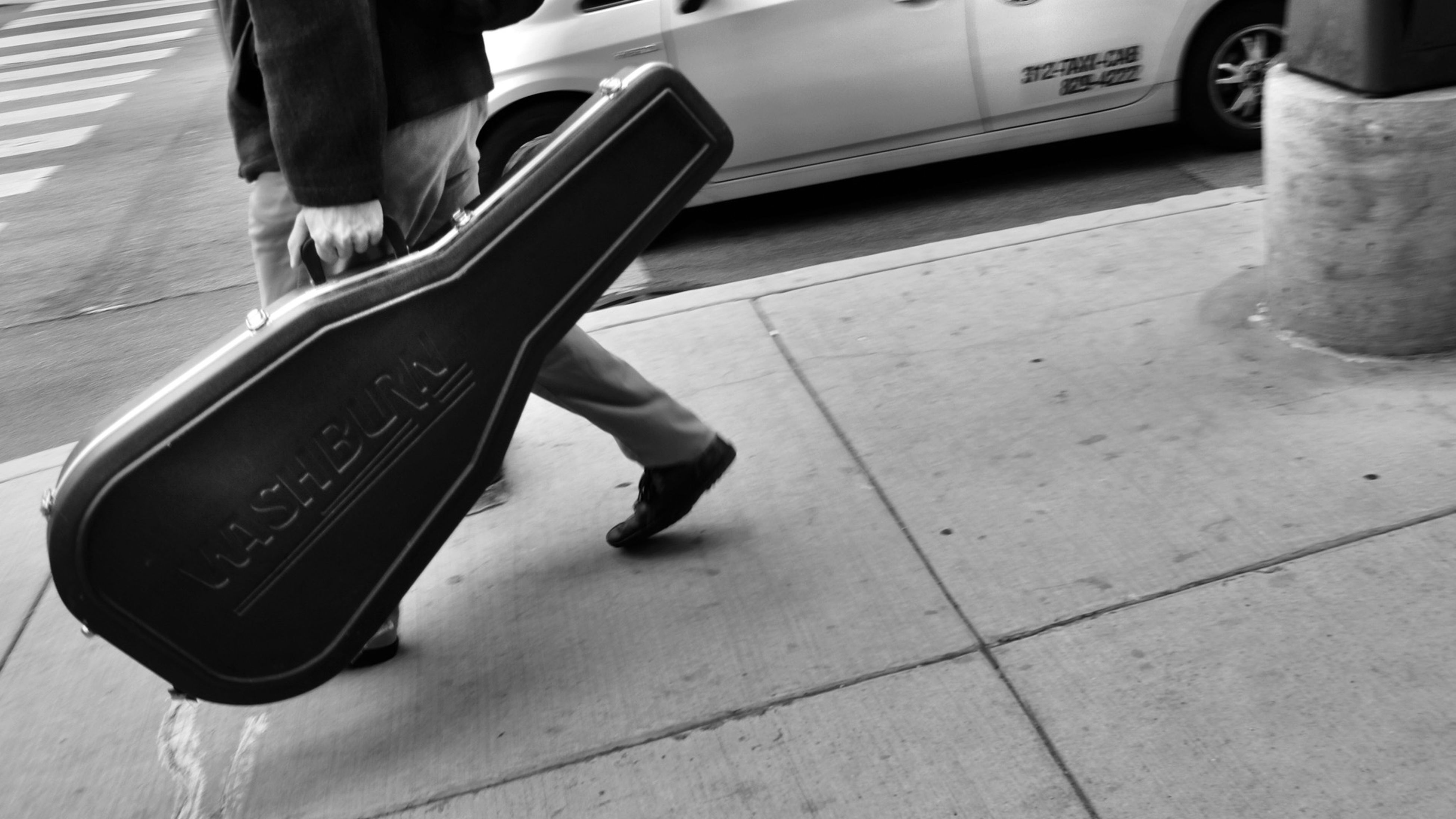 low section, person, transportation, men, street, car, part of, lifestyles, shoe, land vehicle, road, mode of transport, on the move, human foot, standing, walking