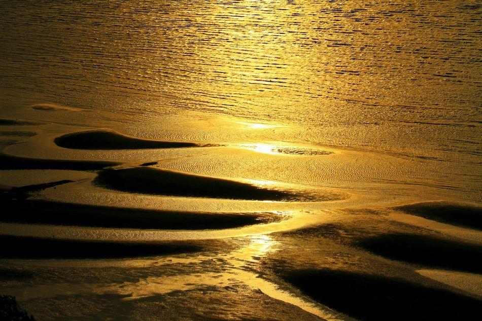 43 Golden Moments 大潮だったら、もっと引いていたんだけど、この景色でも遙々来た甲斐がある!\(^o^)/ 思わず足を止めた景色♪(*´︶`*)✿ Sunset Seaside Sunset_collection EyeEm Best Shots - Sunset + Sunrise Tideland Tidelands Coast EyeEm Best Shots EyeEm Best Shots - My Best Shot