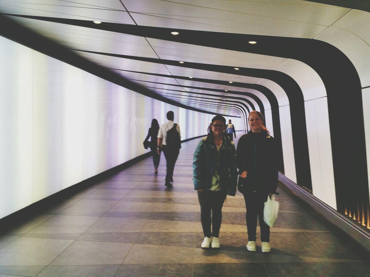 THESE Are My Friends London Subway Lovelovelove Trip Adventure Friendship LongTime  Trust Exploring