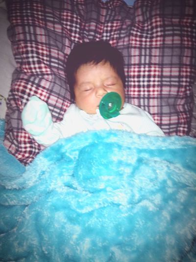 - fell asleep with her soothie Soother Baby 1month Mylove Tiny