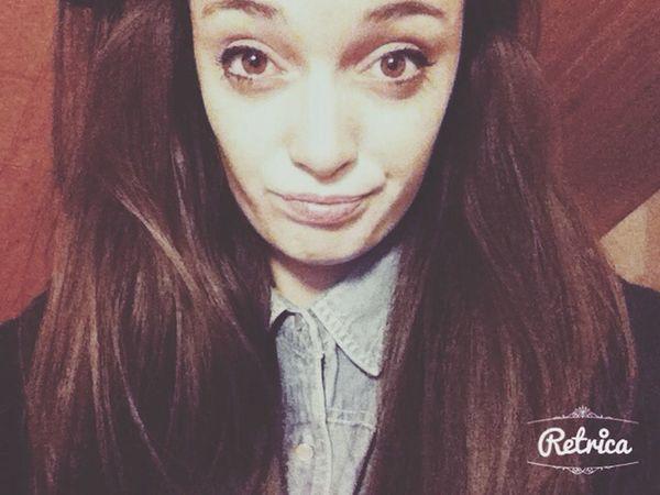 My Hair Selfie Portrait