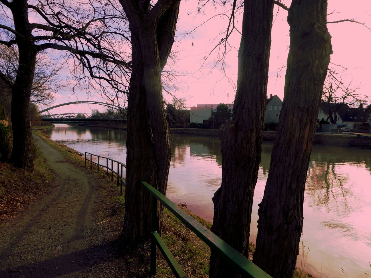 Am Mittellandkanal In Hannover Beauty In Nature I Make My World The Way I Like It I'm A Edit-maniac😄😍 Playing With Effects Express Yourself ❤ Cold Outside,time For Creativity😎 For My Friends 😍😘🎁 Cold Outside ❄⛄  Brrrrrrrrr❄❄❄❄ Beauty In Winter😍 Enjoying The Veiw  Tranquility Lovemyhometown Cloudy Sky-nice View Enjoy The Little Things Cold Outside ❄⛄  Bridge - Man Made Structure Water No People