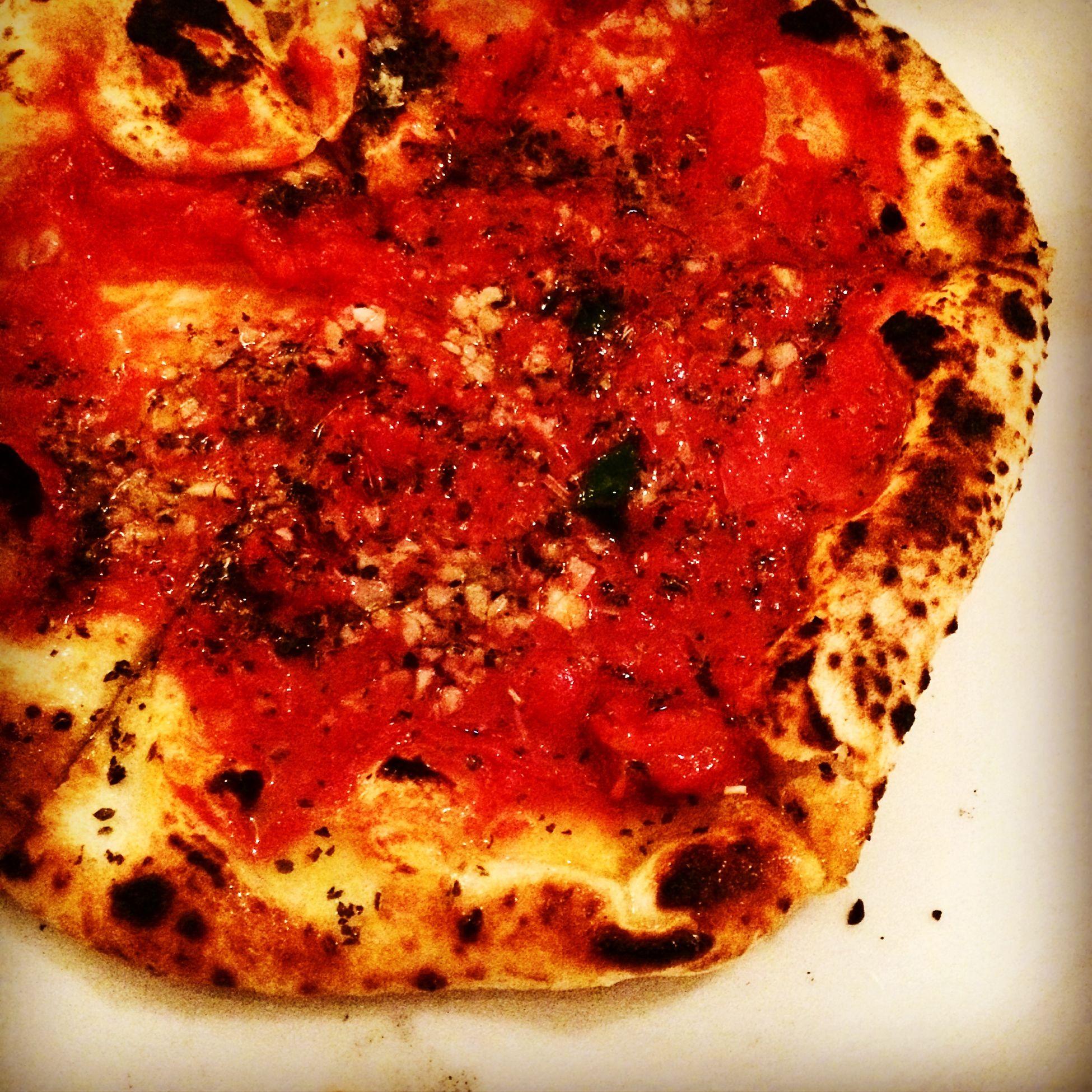 Pizza Pasta Eating Enjoying Life Relaxing