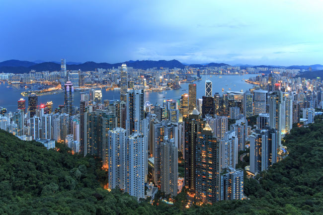 Hong Kong by night, from the Victoria Peak Hong Kong Architecture ASIA Built Structure China City City Life Cityscape Cloud - Sky Growth Illuminated Modern Mountain No People Office Building Outdoors Residential Building Residential District Sky Skyscraper Tall - High Travel Destinations Urban Skyline Victoria Harbour Victoria Peak, Hongkong