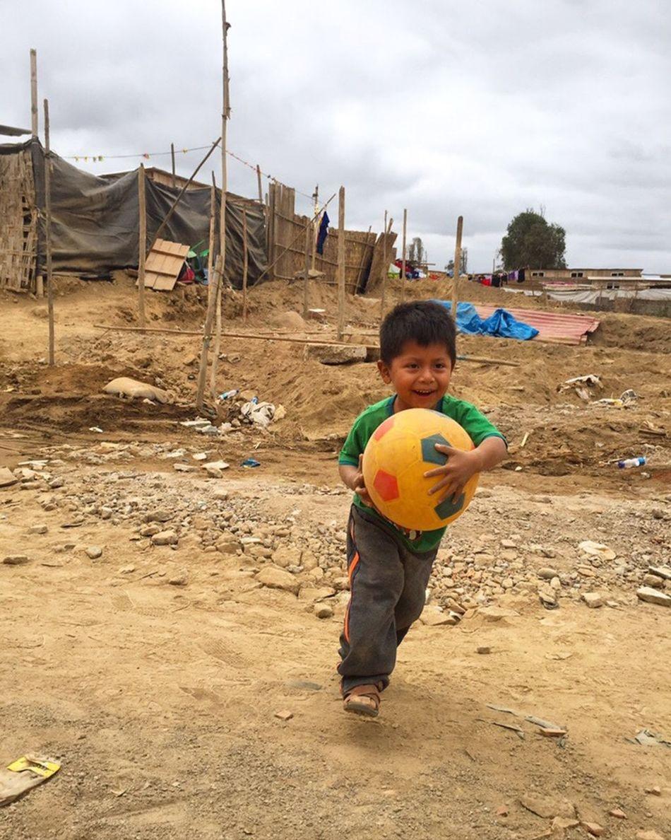San Vincente, Peru Favela Children Fun Play Inequality The Small Joys Happiness Love First Eyeem Photo