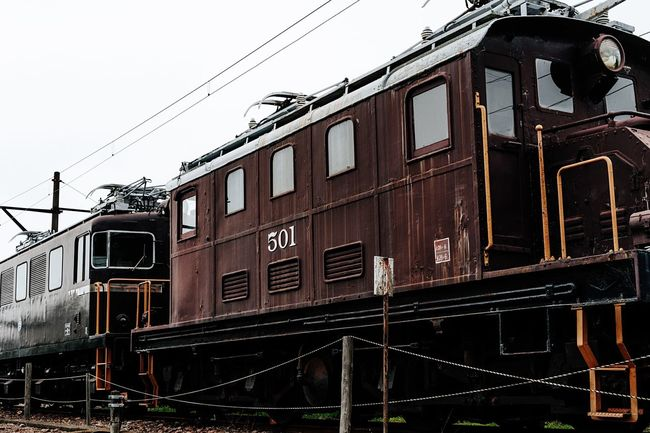 Locomotive Trains Ruined Station Brown White Sky July 2016 Shizuoka,japan Old Trains Japan 岳南電車 Train Yard EyeEm Gallery Railway Old Train Old Train Station Steel Frame Getting Inspired Train Taking Photos Stopping Time Mechanical Hot Day Locomotives Local Train