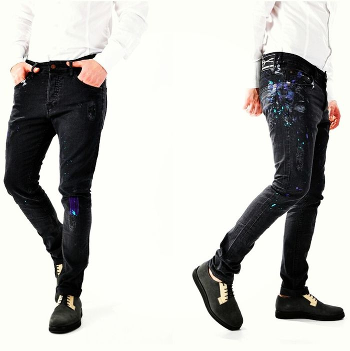 Blugi handmade Different Cut, http://www.DifferentCut.ro Check This Out Happy Enjoying Life Trancefamily Custom Made Blue Jeans Clothes Jeans Fashion Hand Made That's Me Fashionmen People Fashionshow That's Me New Clothes Relaxing