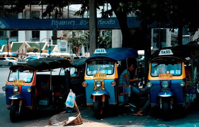 MeinAutomoment TukTuk Bangkok Thailand Transportation
