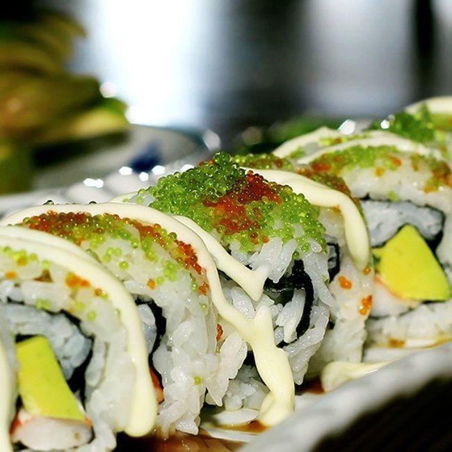 Rolled Rice Sushi Kaizeki Hotelbluesky Foodphotobpn Bpnfoodies Foodlover Japanese Food Foodphotography Foodporn Inmymouf