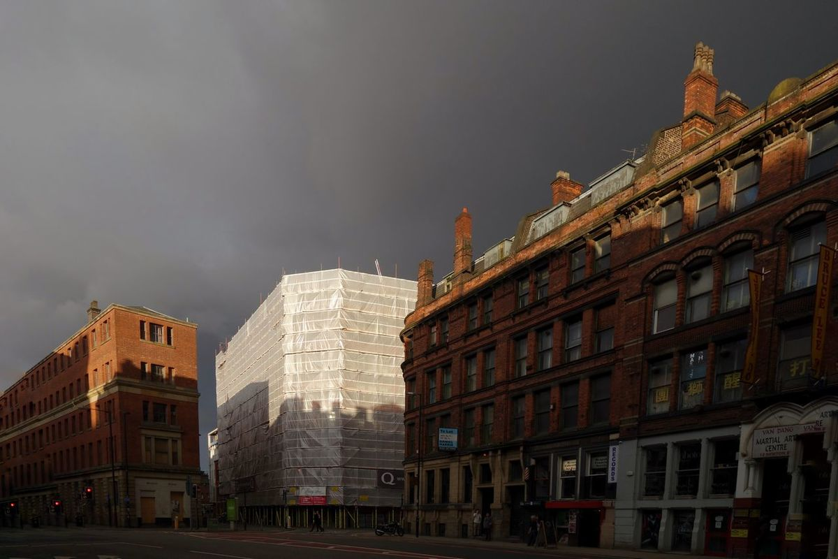 Manchester Newton Street Moody Weather