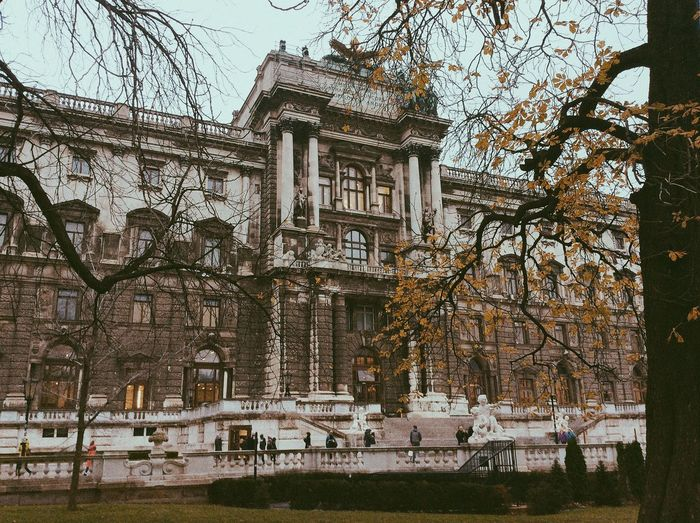 Vienna Austria Hofburg Architecture Building Autumn Fall Historical Building History Wien
