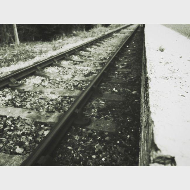 Railway Train Tracks Railroad Tracks Tracks