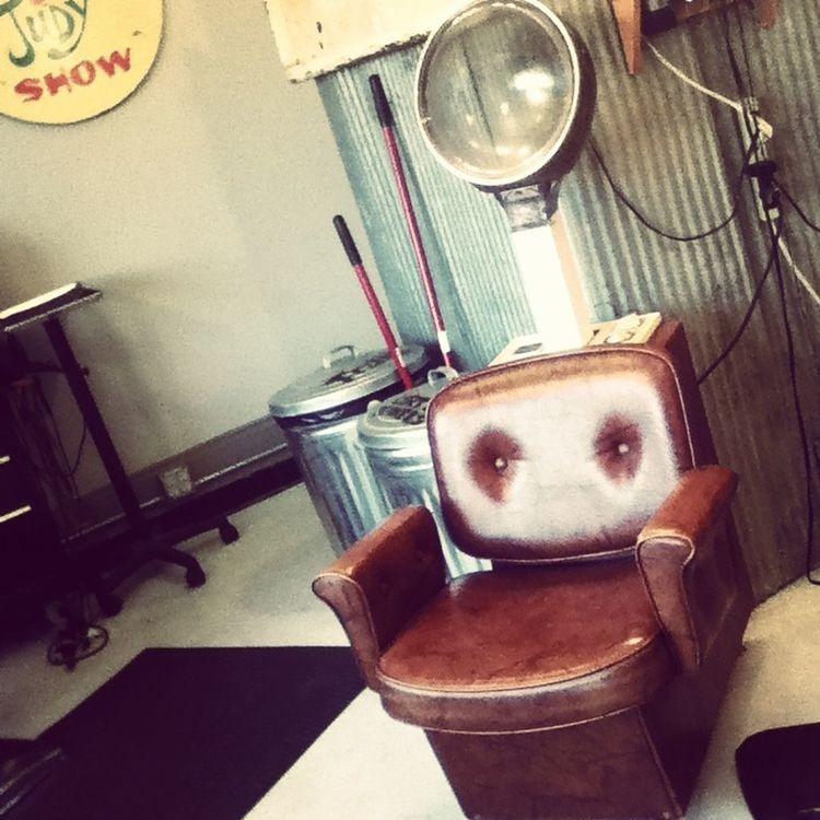 Hair Salon At The Salon Vintage Chair