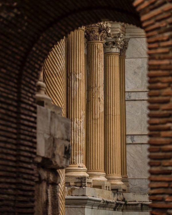 Everything In Its Place Antikkent Salihli Manisa  Turkey Ancient City