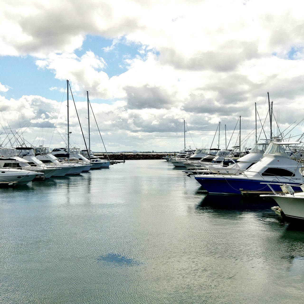 Boats along the Marina .. Water Seascape Travel Photography Nelson Bay Australia New South Wales  Travel Reflections