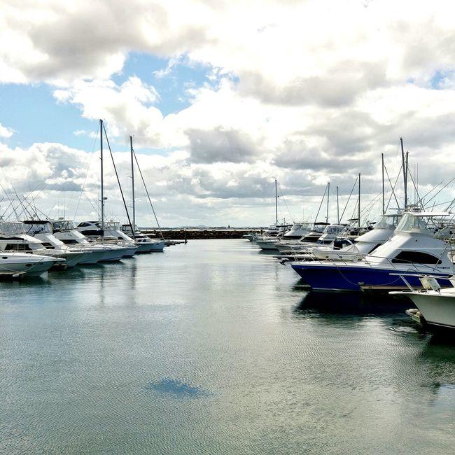 Boats along the Marina .. Water Seascape Travel Photography Nelson Bay Australia New South Wales  Travel Reflections