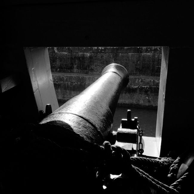 Hermione Canon Gun Fregate IPhoneography