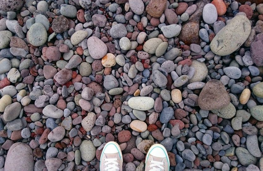 Beach Rocky Beach Pebble Colorful Colorful Nature Vitamin Sea Shoes Feet On The Ground Colorful Day Beauty In Nature Nature Madeira Island Shapes And Colour Ground Travel