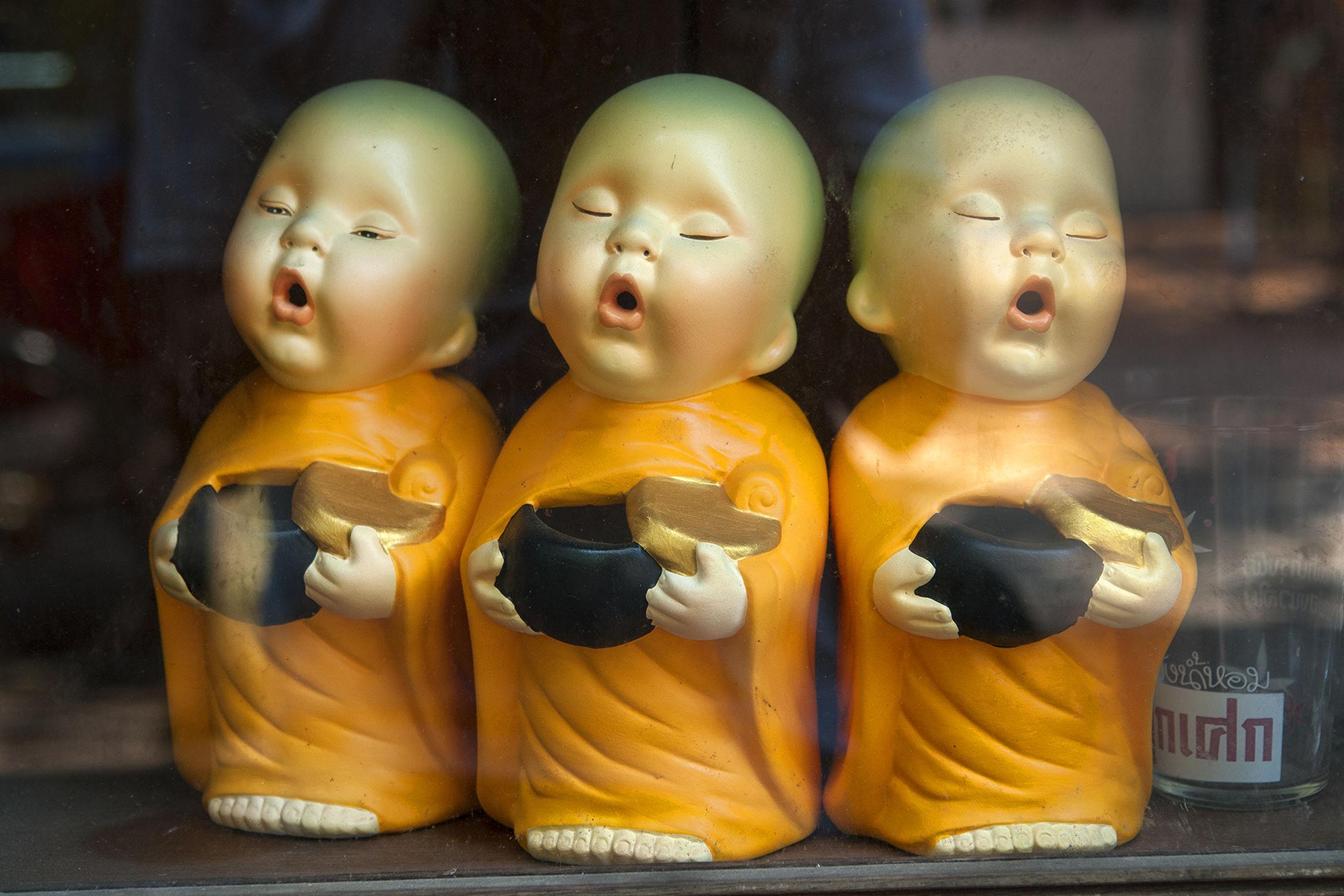 Arrangement Close-up Day Human Representation Indoors  Little Monks Mannequin No People Retail  Statue Still Life Store