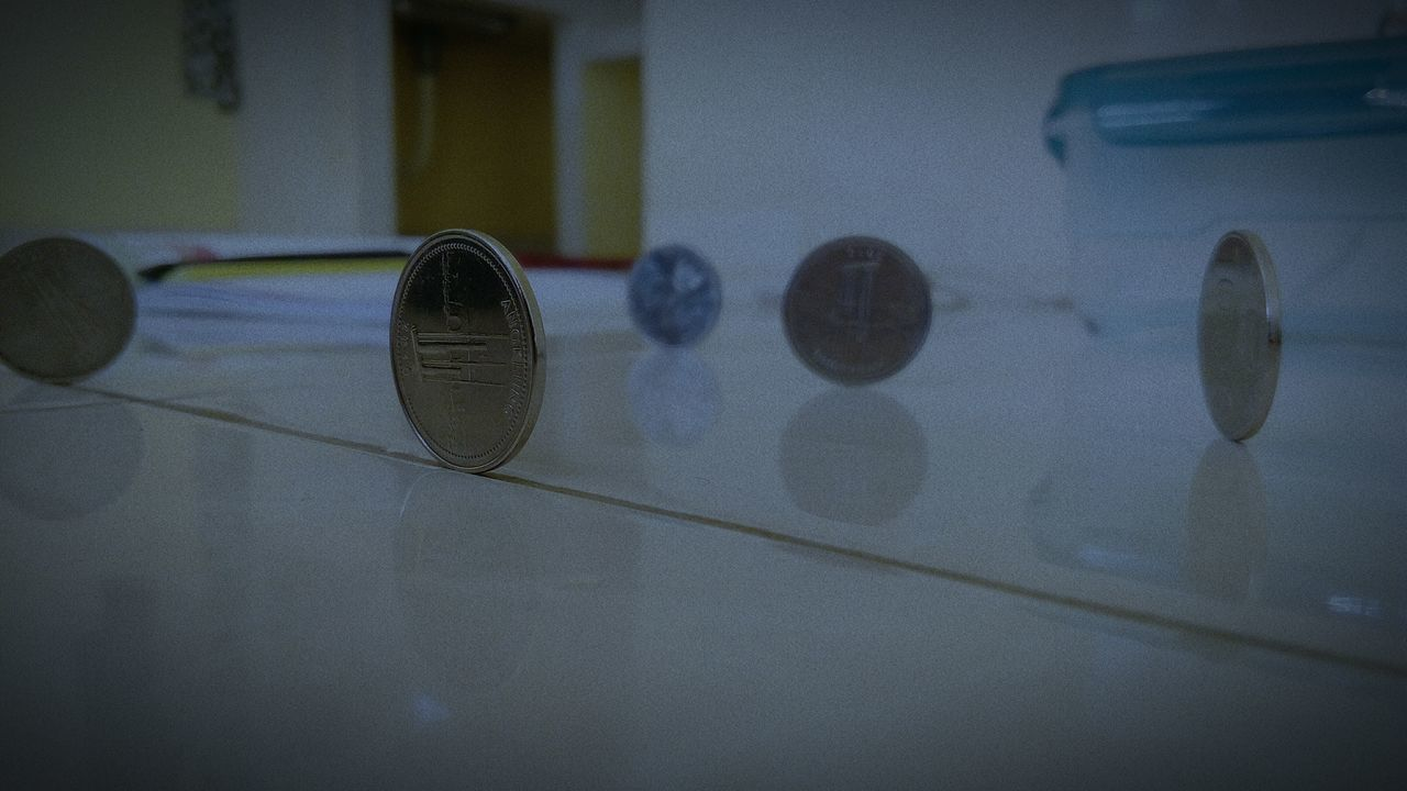EyeEmNewHere coin INDONESIA angklung 1000 5 indoor money stand Bankindonesia EyeEmNewHere