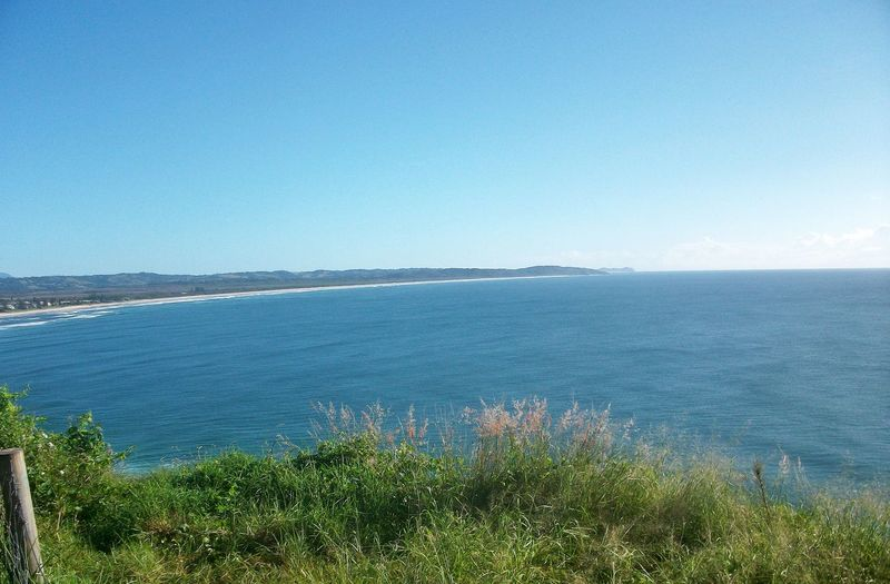 Beach Beauty In Nature Blue Clear Sky Day Grass Horizon Over Water Nature No People Outdoors Scenics Sea Sky Tranquil Scene Tranquility Water