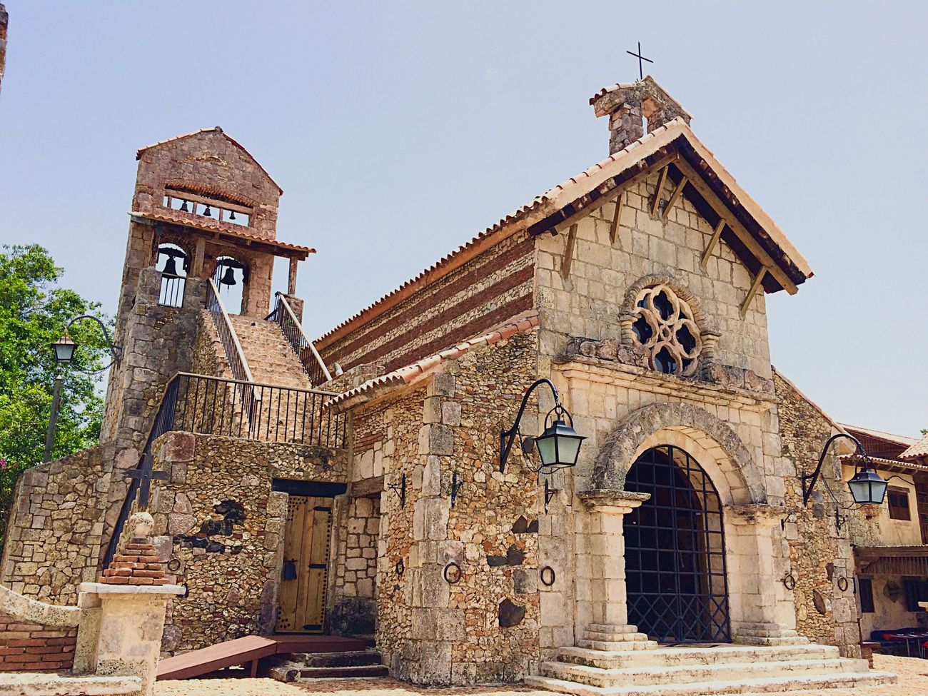 Dominican Republic Altosdechavon Aroundtheworld Church