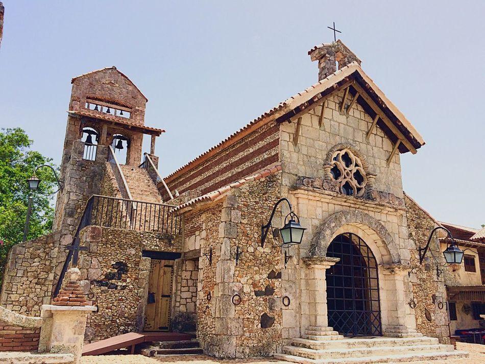 Dominican Republic Altosdechavon Aroundtheworld Church