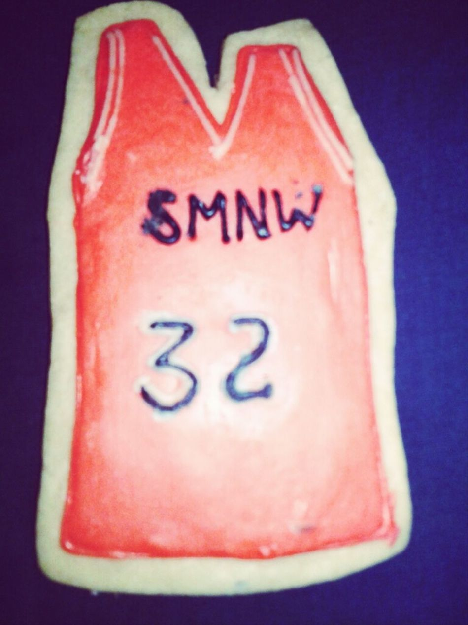 My Basketball Cookie