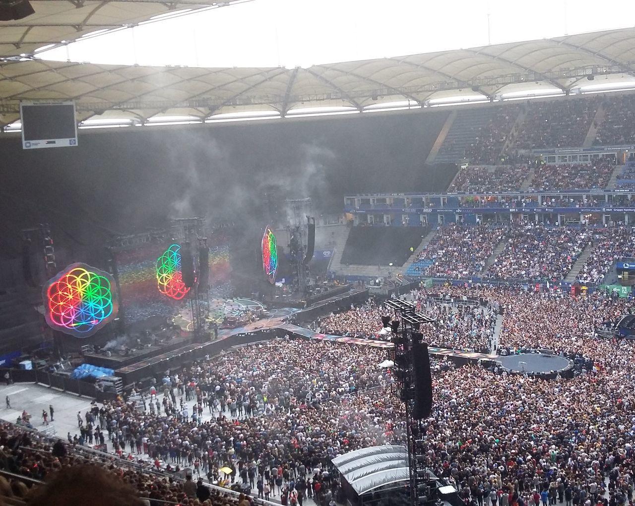 It was breathtaking Coldplay Concert  COLDPLAY ♥ Coldplay Concert Concert Photography Christmas Gift Hamburg