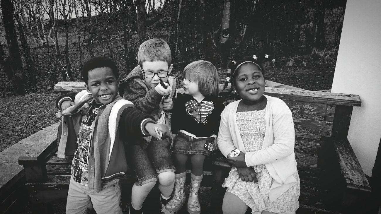 The Fantastic Four having a time of childhood fun! Kids Kidsphotography Children Children Photography Childrenphoto Fantastic Four
