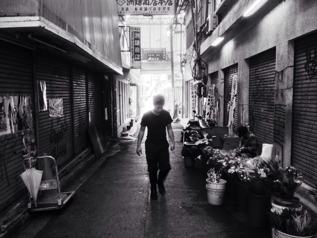 Japan Market Man Blackandwhite Black And White Alley Food Perfect Imperfection