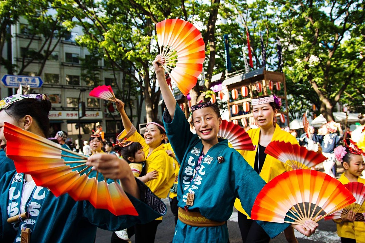 Sigma 17-50mm Canon 700D Festival Japan Sendai Colours Giappone 祭り 日本 Smile :) Japan Photography Japan Tohoku 2015  Aoba Matsuri Japan Colors Travel Bloggers Discover Japan Asian Photography Travel Photos
