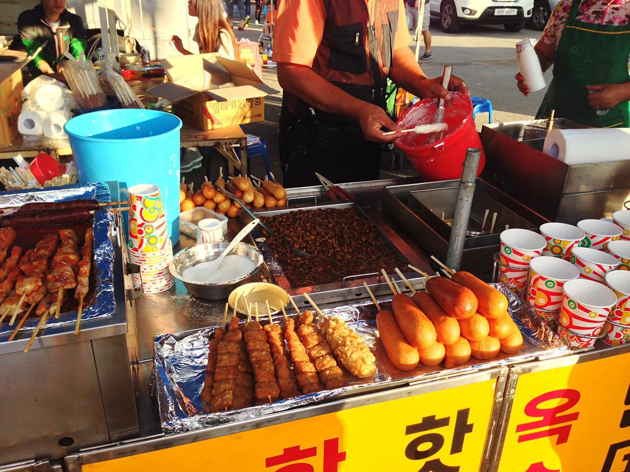 Beautiful stock photos of seoul, Day, Food, Food And Drink, Four People