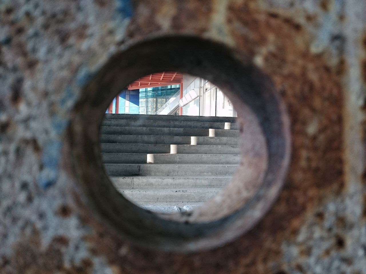 window, circle, built structure, architecture, day, indoors, no people, close-up