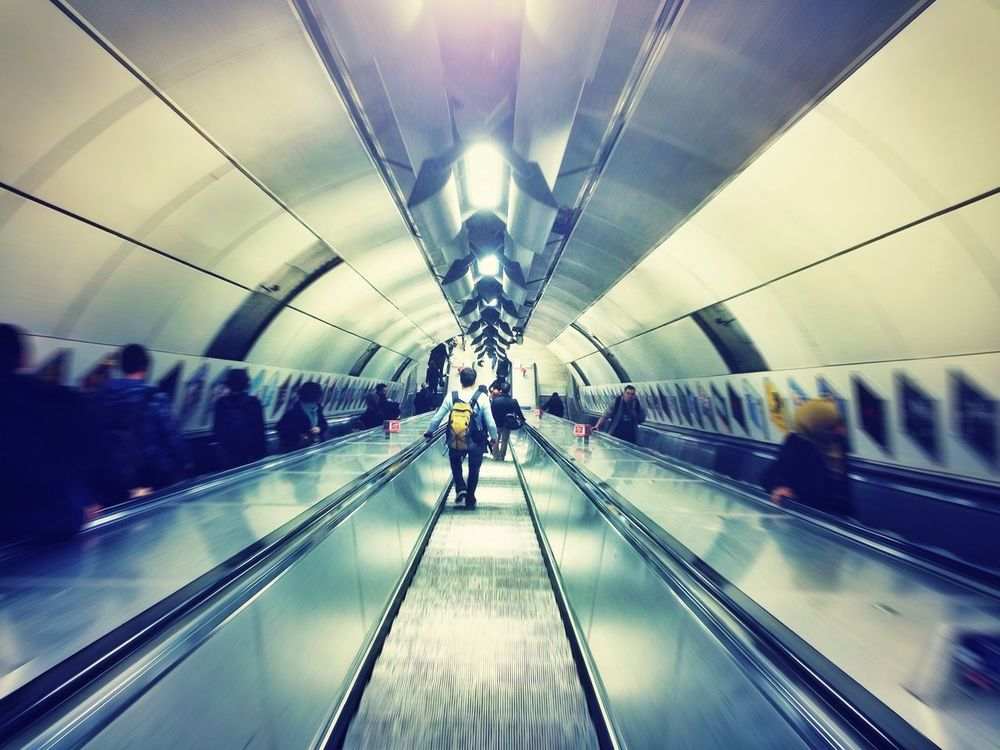 Underground at London Bridge by Kevin Richter