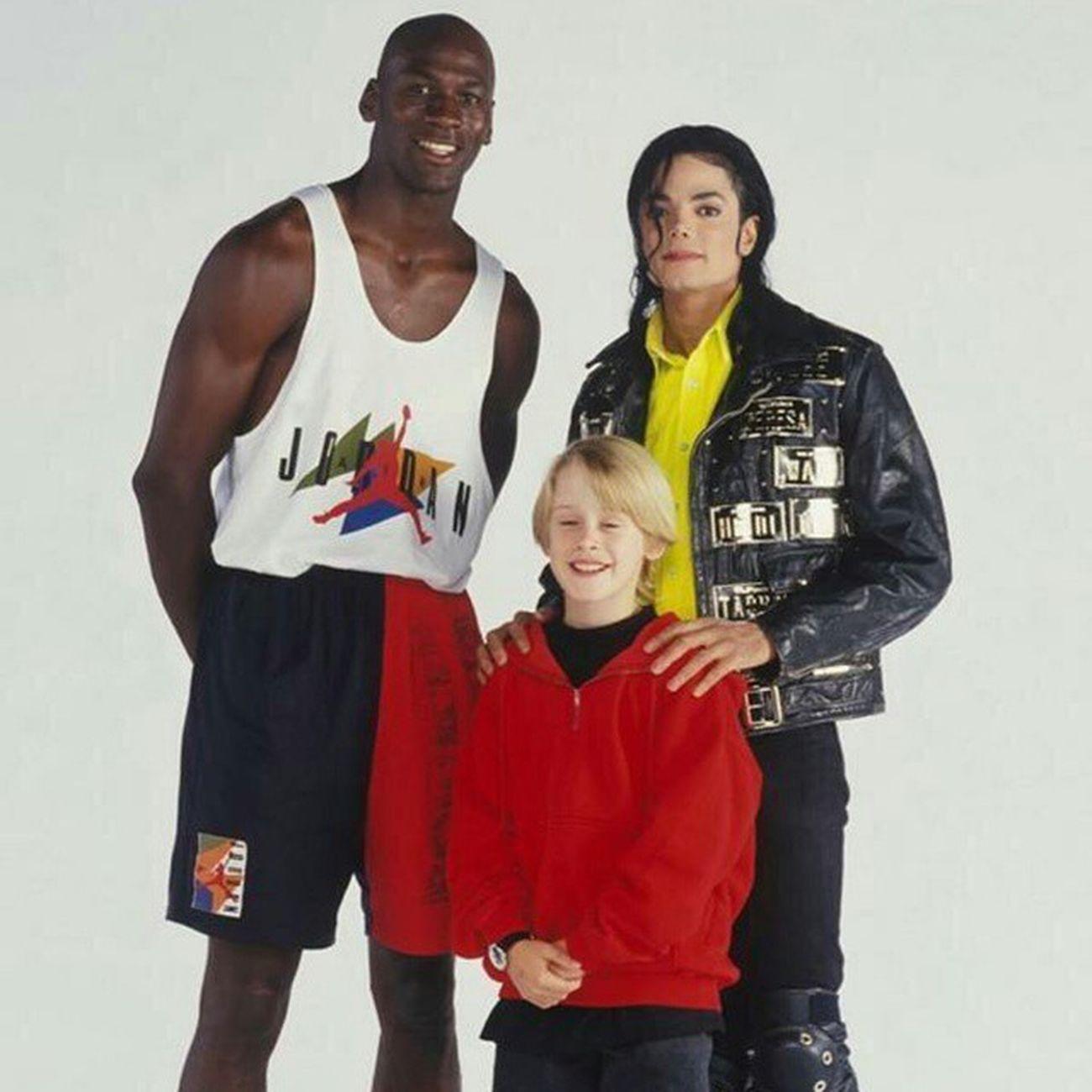 Jordan, Jackson, Culkin Sorandomsunday Srs Michaeljordan Michaeljackson macaulayculkin basketball singer homealone blog business website ilivelife jimbosports