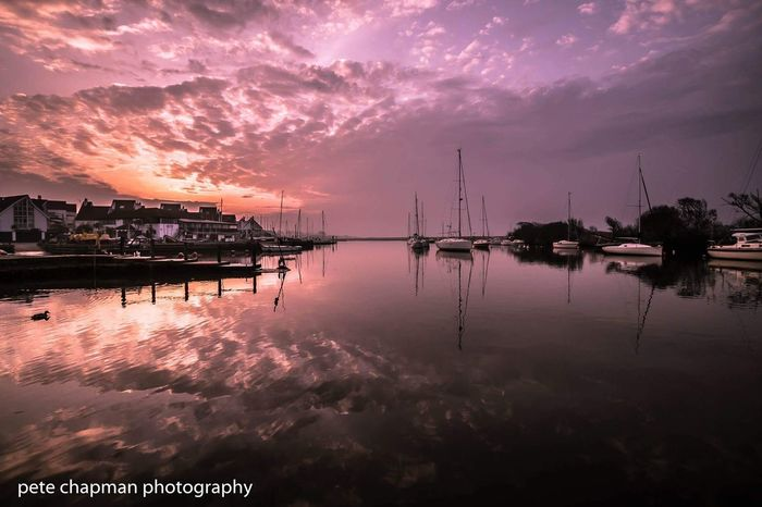 Long Exposure Sunrise Highcliffe Dorset