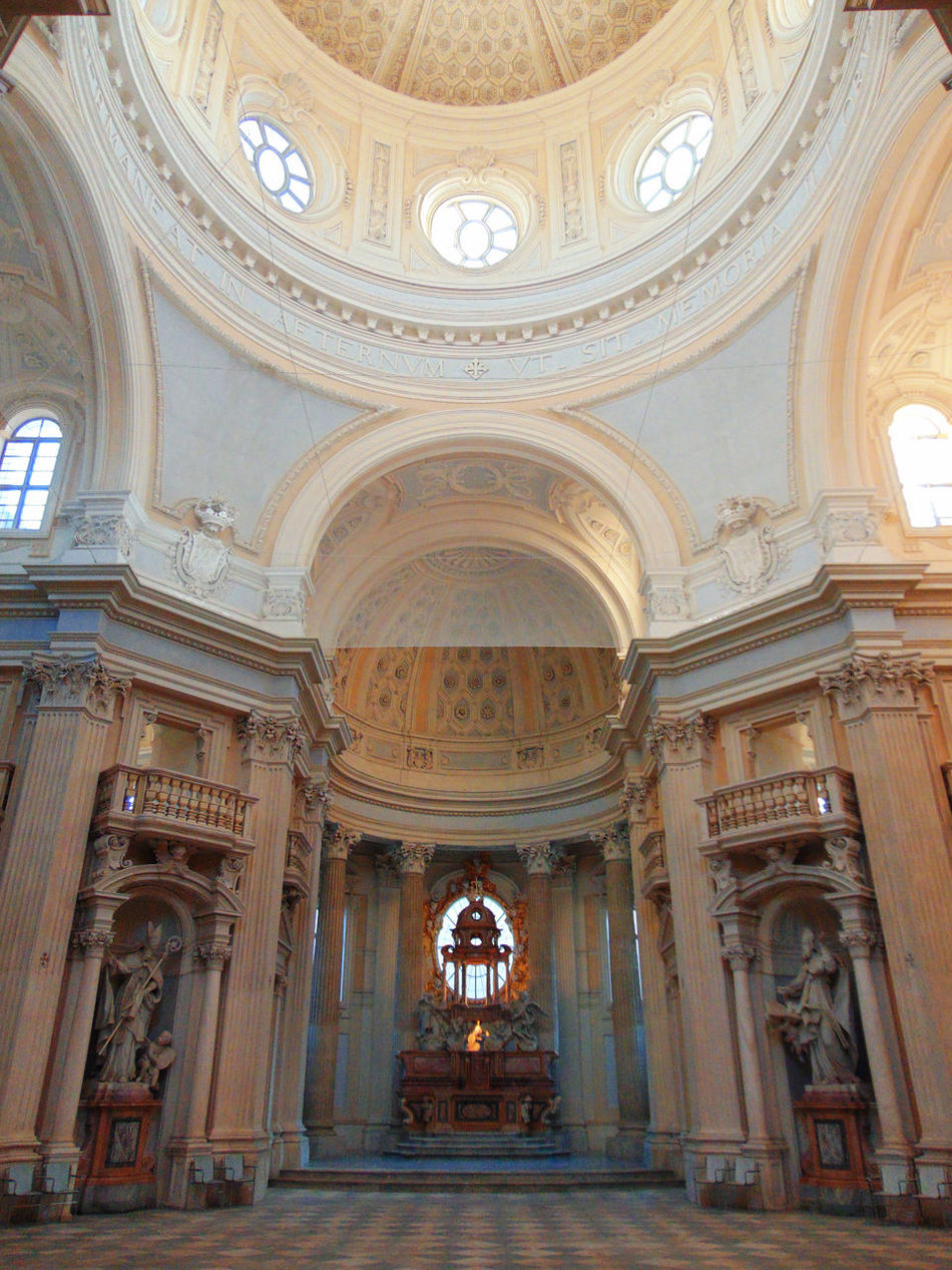 Arch Architectural Feature Architecture Built Structure Ceiling Church Column Design Geometry Historic History Indoors  Juvarra Ornate Place Of Worship Religion Spirituality Symmetry Venariareale