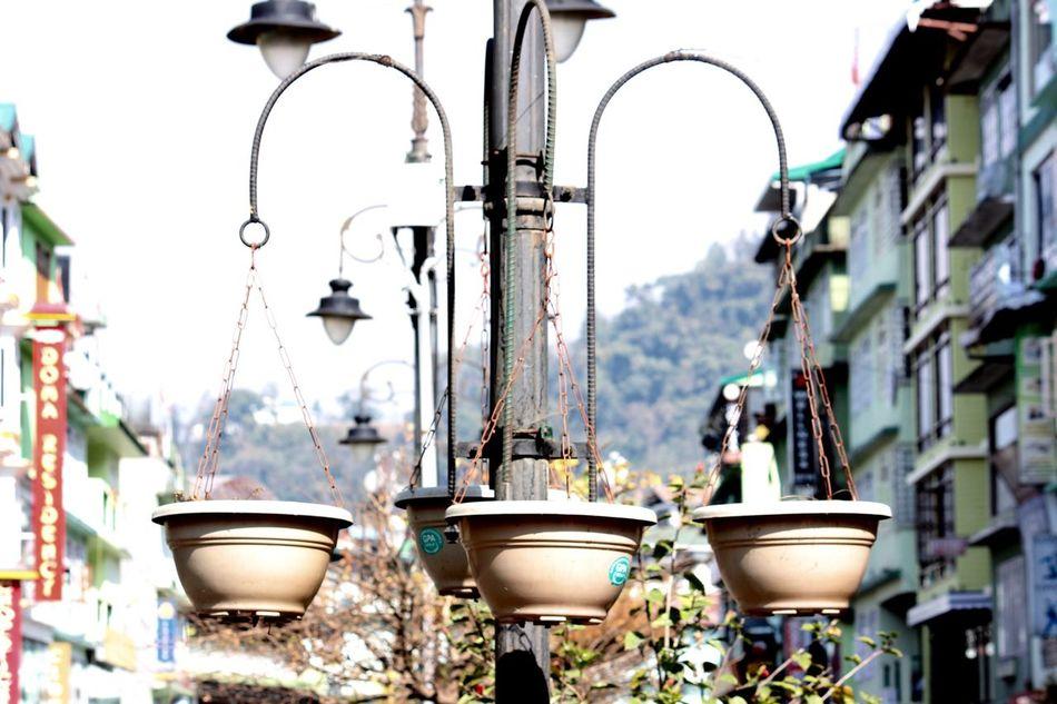 EyeEmNewHere No People Large Group Of Objects Day Sikkimdiaries Gangtok Market Flowerpot