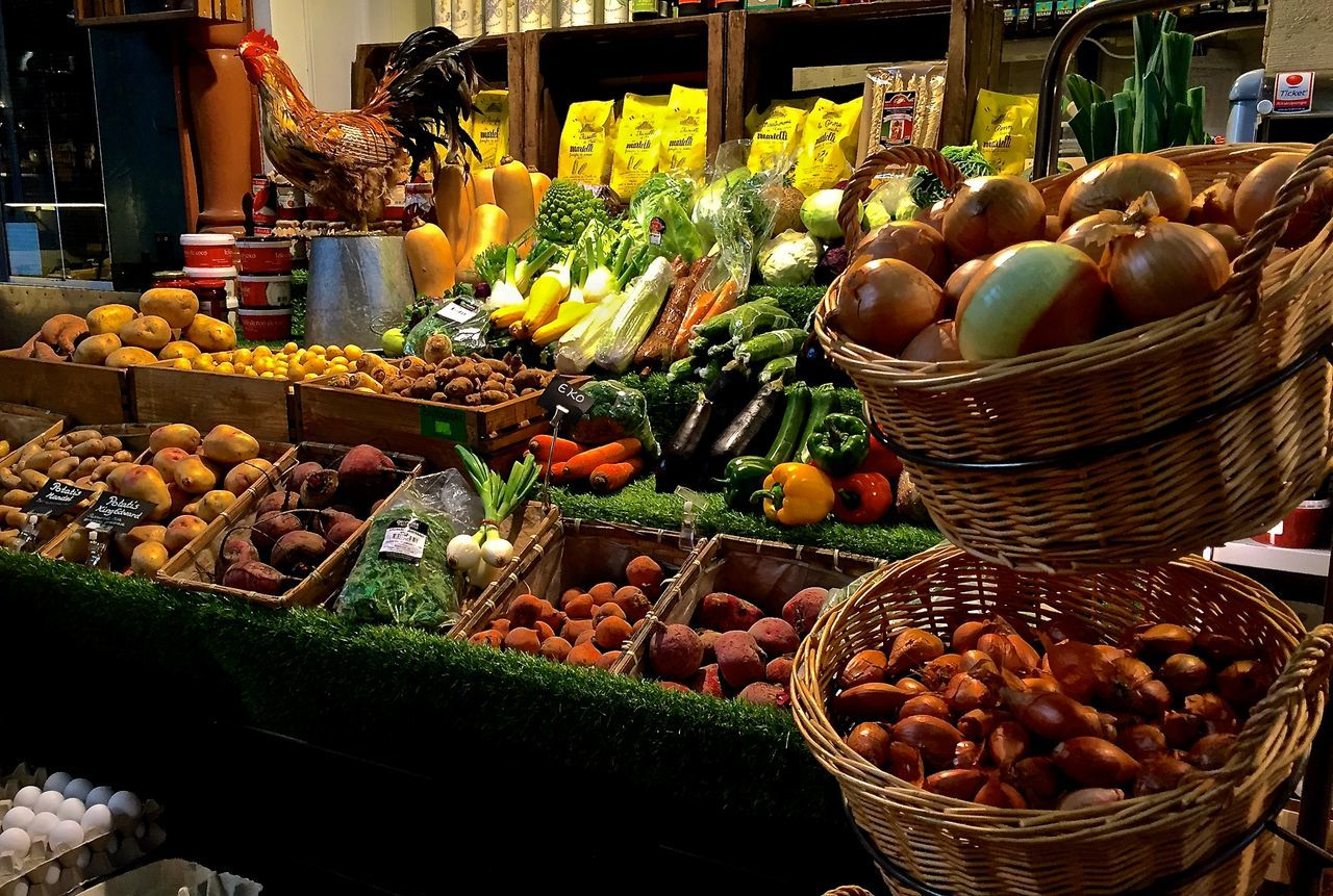 Abundance Arrangement Choice Farmers Market Food Food And Drink Food Market Fresh Food Freshness Fruit Healthy Eating Market No People Organic Food Organic Lifestyle Organic Living Raw Food Retail  Rooster Small Business Vegetable
